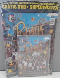 Compre o DVD e leve junto o poster das Aventuras de Poliana na Banca Vanildo em Registro-SP