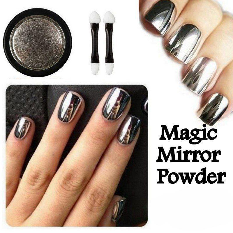 In Moda For Me Nail Art Como Hacer U 241 As Efecto Espejo