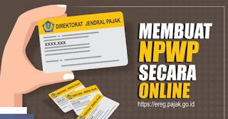 Daftar NPWP Dengan Online