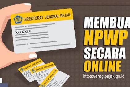 Cara Daftar NPWP Dengan Online Mudah Dan Cepat