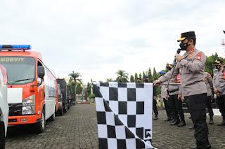 Kapolda Sulsel Lepas 10.000 Paket Bansos Untuk Masyarakat Terdampak  PPKM Mikro