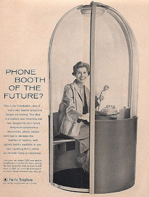 Phone booth of the future