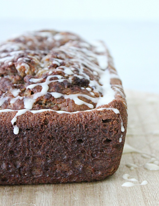 Eggnog Banana Bread from Table for Seven