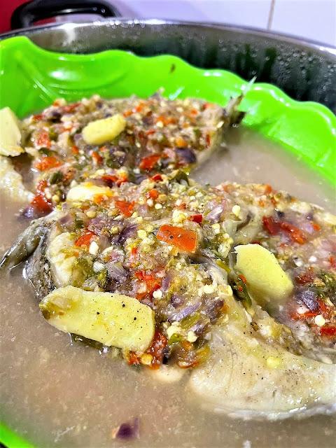 Ikan Kerapu Stim Thai
