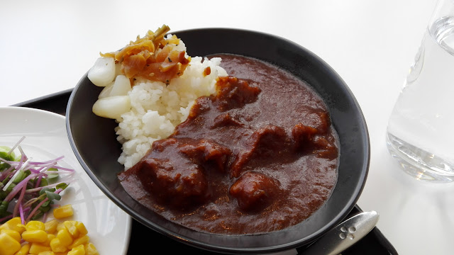 JAL Beef curry and rice