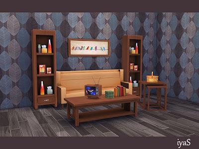 Ретро стиль — наборы мебели и декора для Sims 4 со ссылками для скачивания