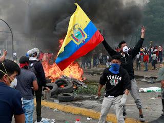 Ecuador en elecciones para la segunda vuelta