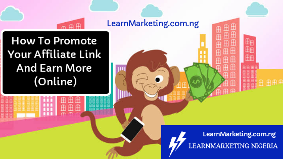 How To Promote Your Affiliate Link And Earn More Money (Online)