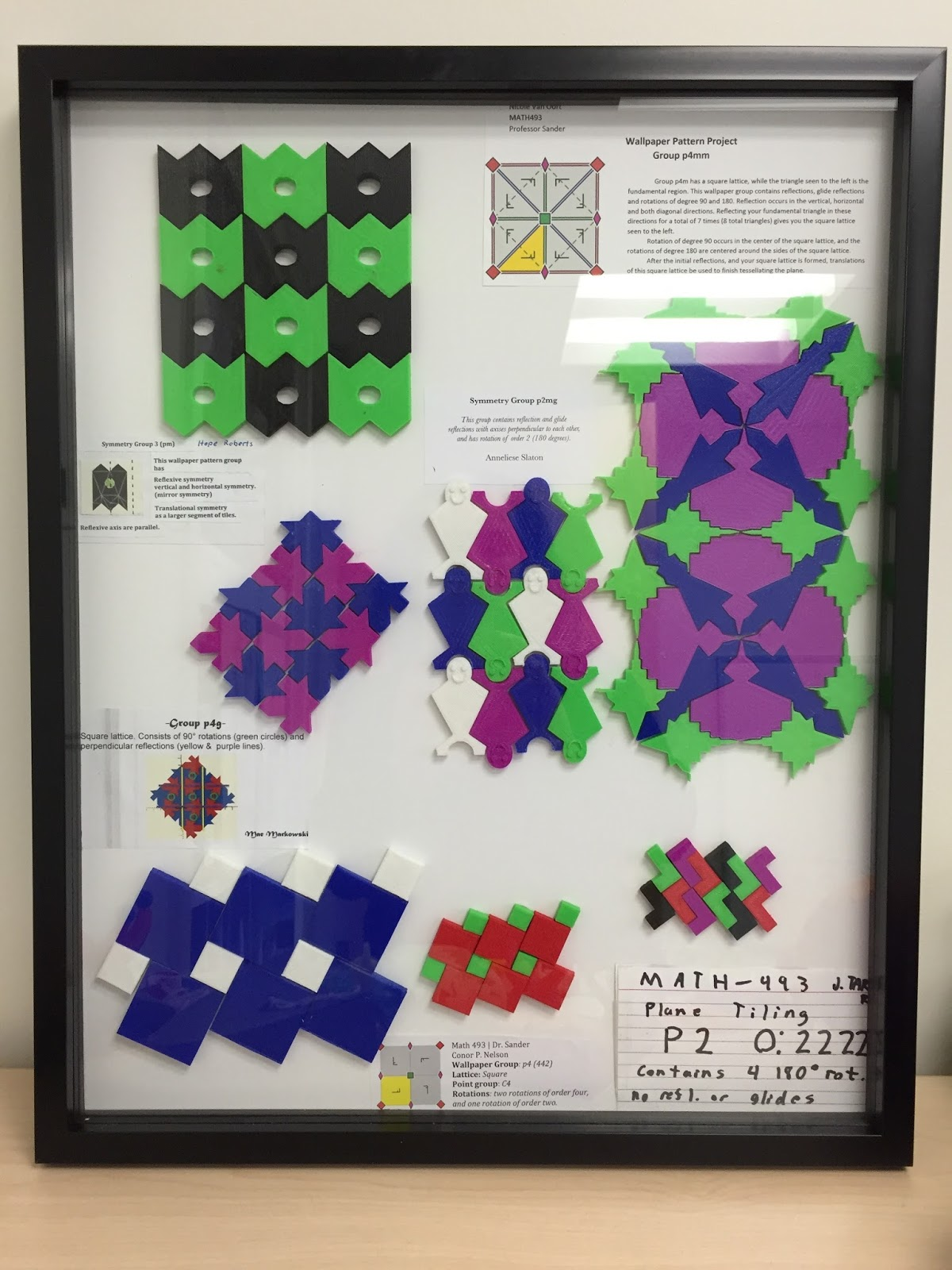 Color printing gmu - Wallpaper Groups And Their Symmetries Any Pattern That Can Be Repeated In A Repeatable Fashion Throughout The Entire Infinite Plane Is Mathematically