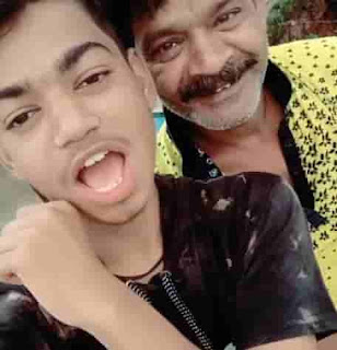 Sagar Goswami With His Father