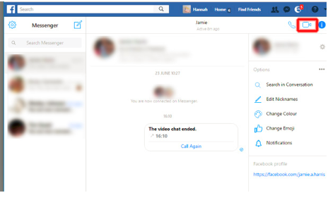 Video Chat On Facebook Messenger - How to Video Chat On Facebook Messenger
