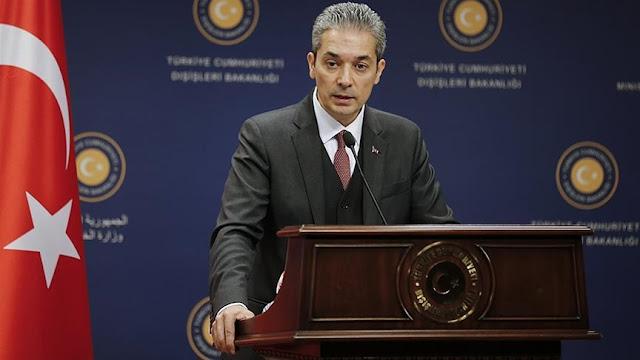 Τουρκικό ΥΠΕΞ: «Γελοίοι» οι ισχυρισμοί Δένδια για τα Βαρώσια