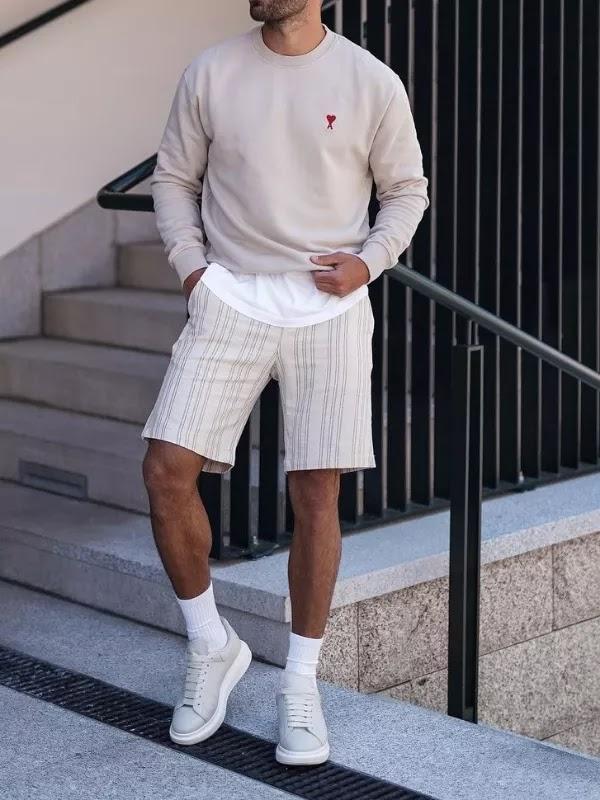 Sweatshirts with shorts