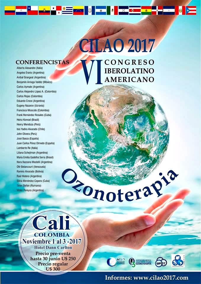 IV congreso Ibero-Latinoamericano de Ozonoterapia - Cali, Colombia