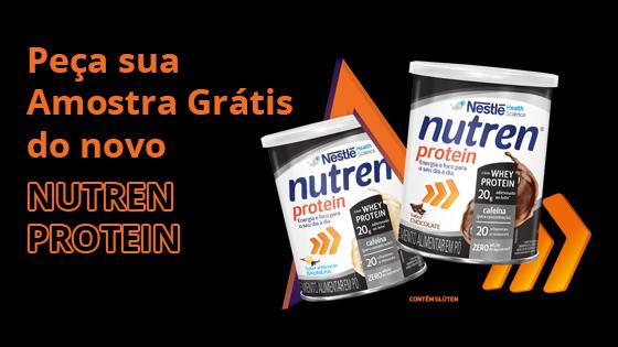 amostra grátis nutren protein