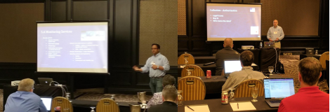CTSC's Warren Raquel and Mark Krenz at the Great Plains Network & Greater Western Library Alliance training in June 2017