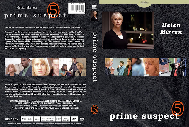 Prime Suspect Season 5 DVD Cover