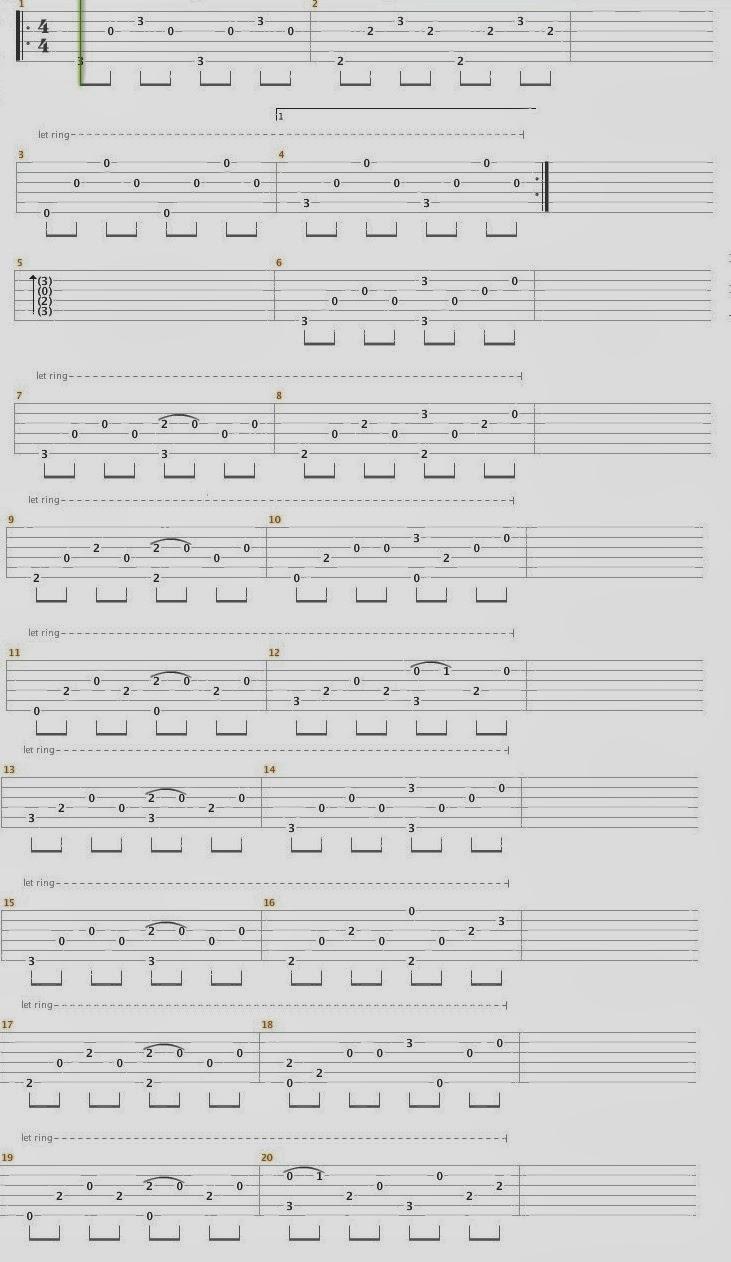 Fingerstyle Tabs : Someone Like You ( Adele ) Fingerstyle Tab | 731 x 1262 jpeg 135kB