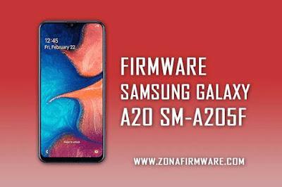 FIRMWARE SAMSUNG GALAXY A20 SM-A205F