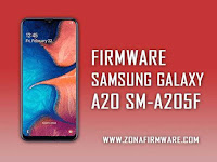 Cara Flash Samsung Galaxy A20 SM-A205F