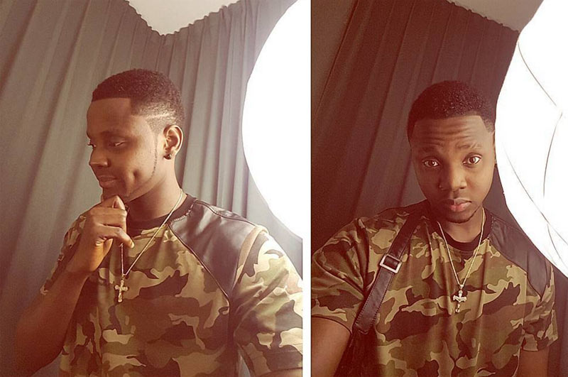 Fine boy: Kiss Daniel shares cute selfies from South Africa