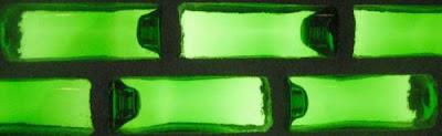 Diseño y ambientación con botellas de vidrio de colores
