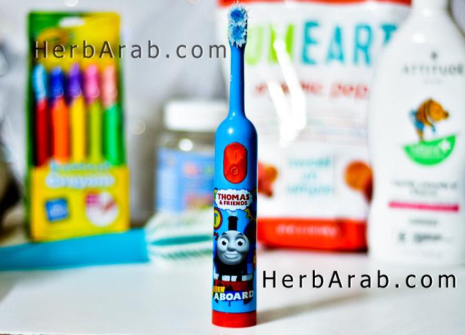 فرشاة اسنان للاطفال من اي هيرب