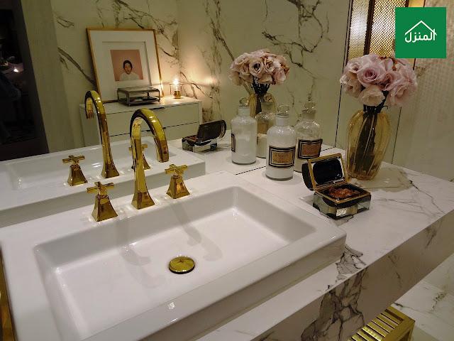 صور اكسسوارات مغسلة الحمام