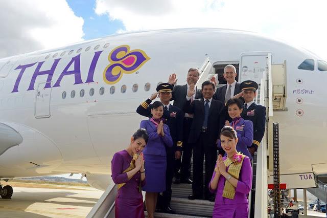 Booking with Thai Airways