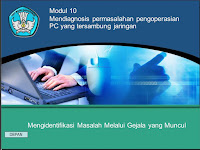 Diagnosis PC Tersambung Jaringan LAN