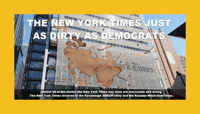THE NEW YORK TIMES JUST AS DIRTY AS DEMOCRATS