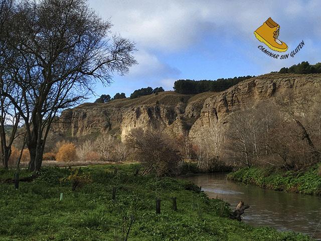 Paredes de Cuelga Mures río Manzanares