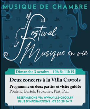 Concerts à la Villa
