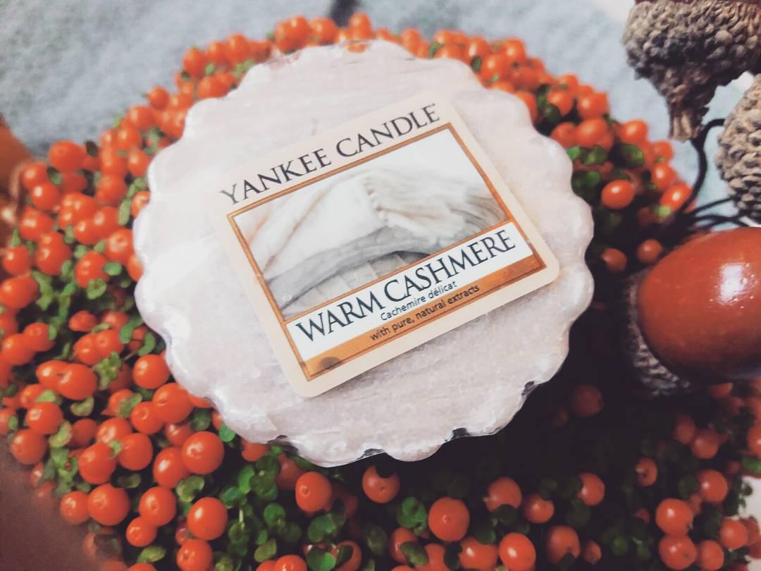 Yankee Candle Warm Cashmere - miłość od pierwszego powąchania