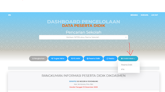 tampilan pd.data.kemdikbud.go.id