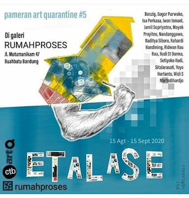 pameran quarantine etalase