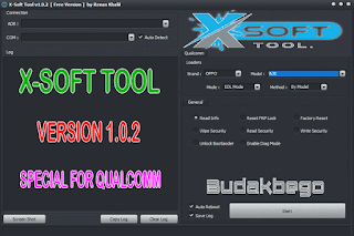 X-Soft Tool v1.0.2 Special For Qualcomm Devices