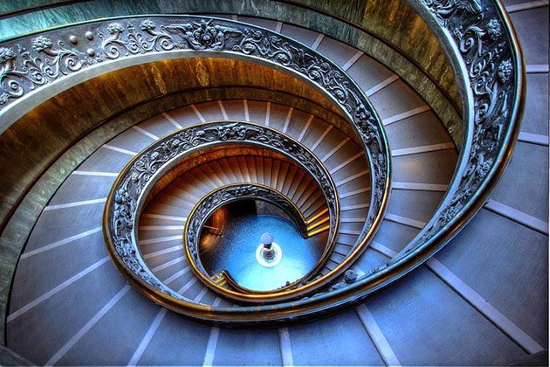 "1. ""Momo Stairs"" – Naoto Tsujimoto - 15 Mesmerizing Examples of Spiral Staircase Photography"