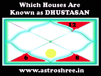 Which houses are called dhusthanas Horoscope