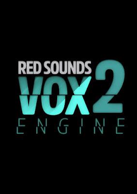 Cover Box da Library Red Sounds - VOX Engine 2 (KONTAKT)