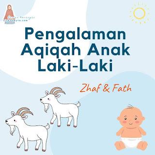 Pengalaman aqiqah anak laki-laki tanpa paket aqiqah