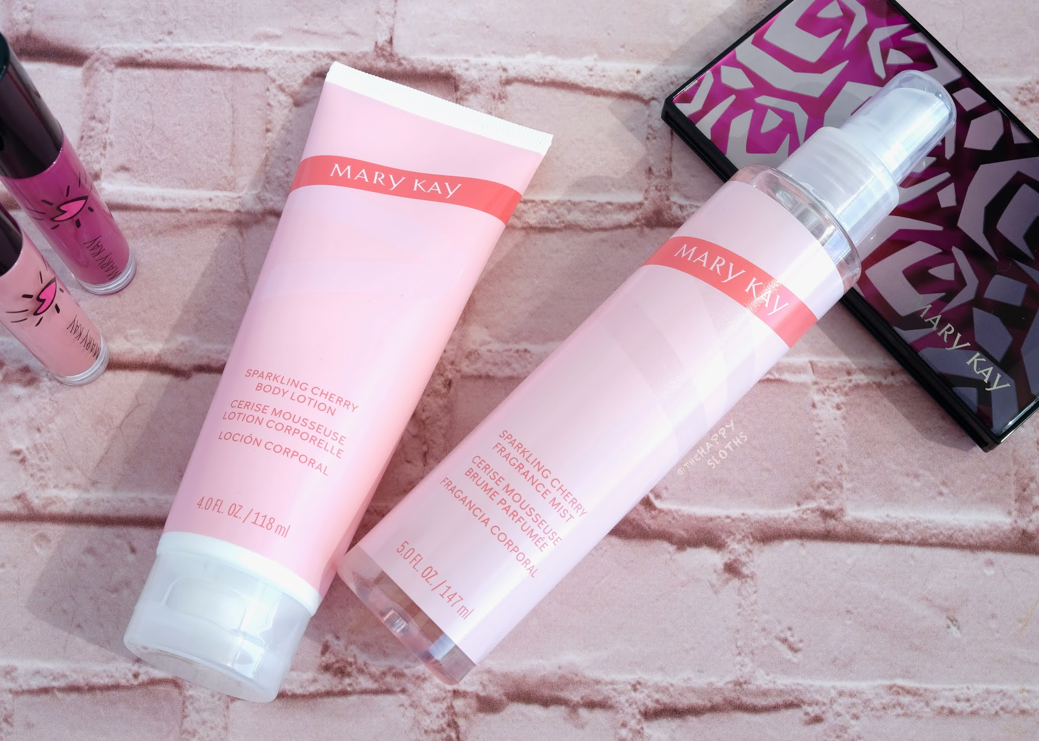 """Mary Kay   Limited Edition Body Care Set in """"Sparkling Cherry"""": Review"""