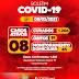 Jaguarari registra 04 novos casos de coronavírus no Boletim desta segunda-feira (08)
