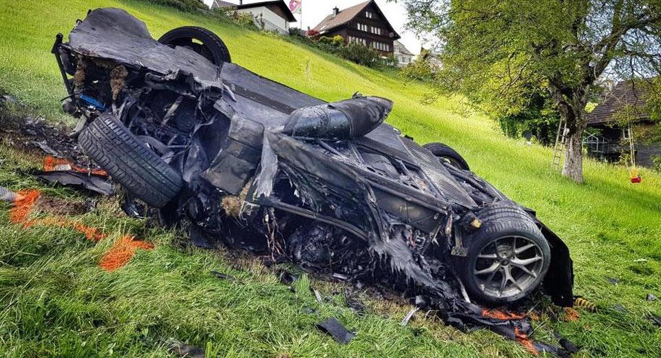 Hillclimb Organizers Fined After Hammond's Fiery Swiss Crash