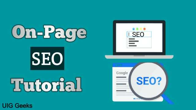 A Simple On-Page SEO Tutorial for Beginners