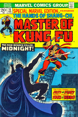 Special Marvel Edition #16, Shang-Chi, Master of Kung Fu, Midnight