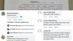 Viral Surat Kepala DPMD Kerinci di Medsos
