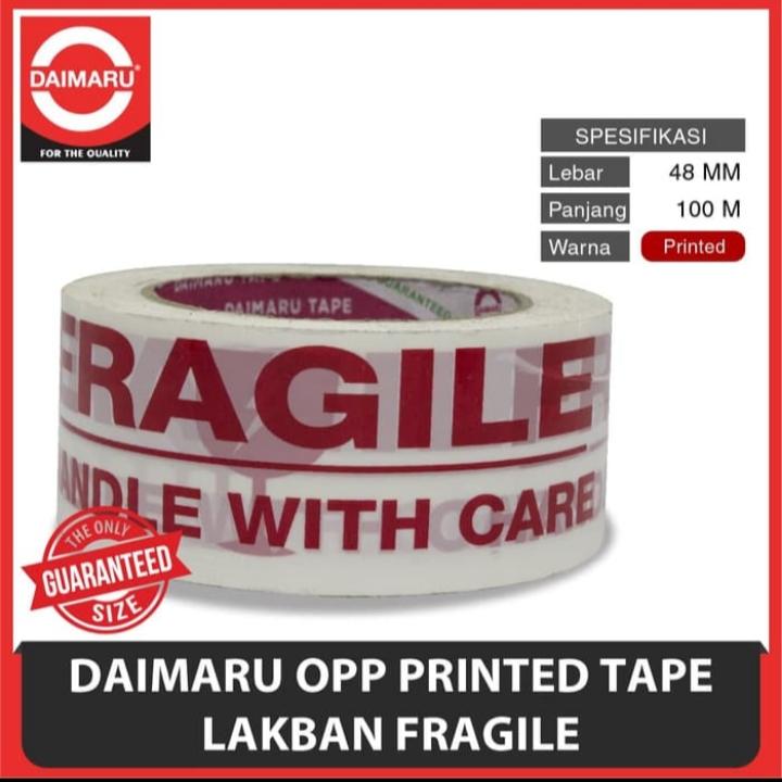 lakban fragile Daimaru di Pekanbaru, jual lakban fragile Daimaru di pekanbaru, lakban fragile Daimaru murah di pekanbaru