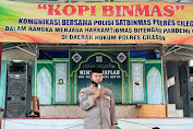 """Sinergitas Polres Cilegon dan Warga Lewat Program """"Kopi Binmas"""""""