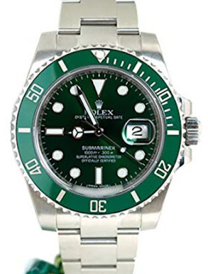 Pajak Rolex (Rolex Submariner Date Green Dial Dipajak RM41,000) - kedaipajak.com